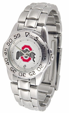 Ohio State Sport Women's Steel Band Watch
