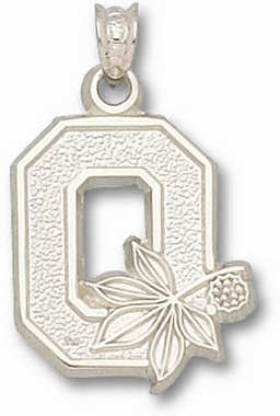 Ohio State Sterling Silver Pendant