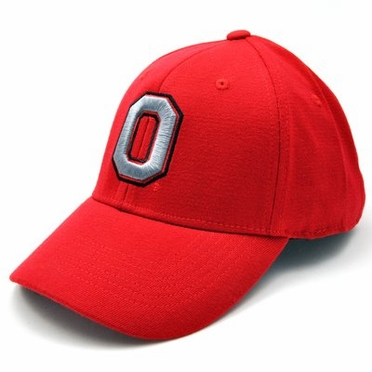 Ohio State Team Color Premium FlexFit Hat