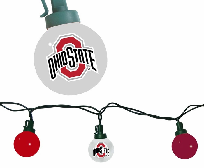 Ohio State Team Tailgate String Lights