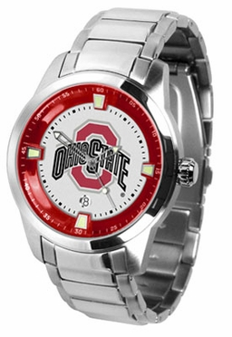 Ohio State Titan Men's Steel Watch