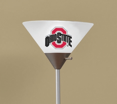Ohio State Torchierre Floor Lamp