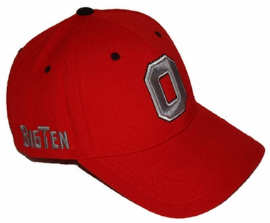 Ohio State Triple Conference Adjustable Hat