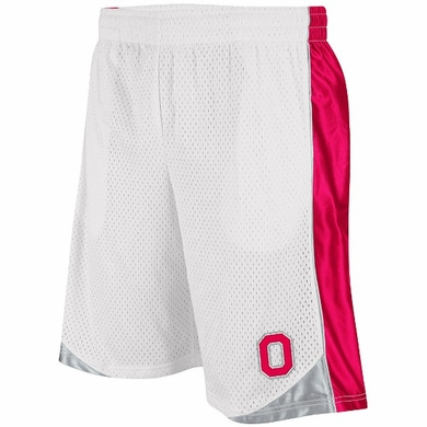 Ohio State Vector Performance Shorts (White)