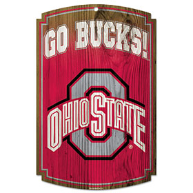 Ohio State Wood Sign