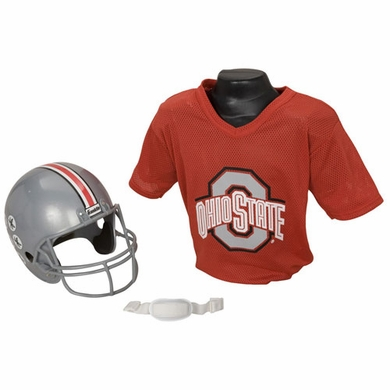 Ohio State Youth Helmet and Jersey Set