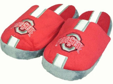 Ohio State YOUTH Team Stripe Slide Slippers - Medium