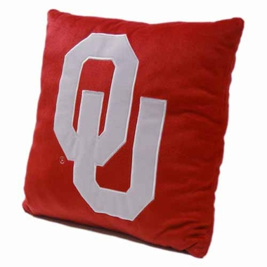 Oklahoma 15 Inch Applique Pillow