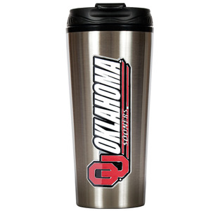Oklahoma 16 oz. Thermo Travel Tumbler
