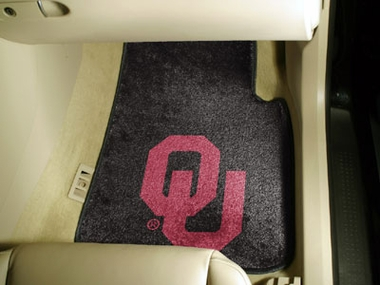 Oklahoma 2 Piece Car Mats