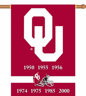 Oklahoma 2 Sided Championship Banner (P)