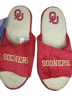 Oklahoma 2011 Open Toe Hard Sole Slippers