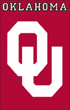 Oklahoma Applique Banner Flag