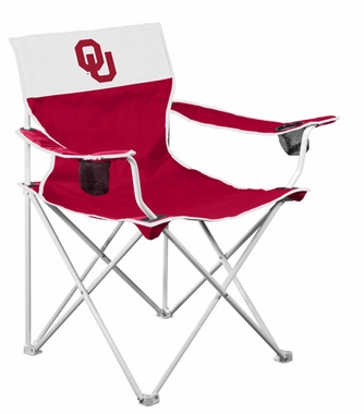 Oklahoma Big Boy Adult Folding Logo Chair
