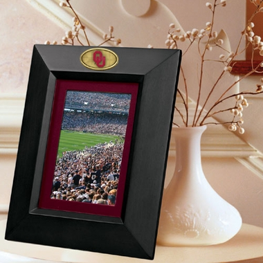 Oklahoma BLACK Portrait Picture Frame