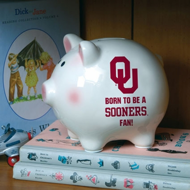 Oklahoma (Born to Be) Piggy Bank