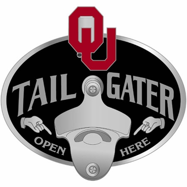 Oklahoma Bottle Opener Hitch Cover
