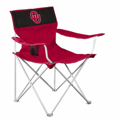 Oklahoma Canvas Adult Folding Logo Chair