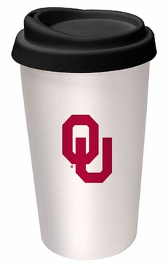 Oklahoma Ceramic Travel Cup