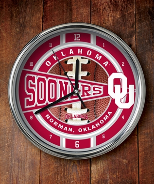 Oklahoma Chrome Clock