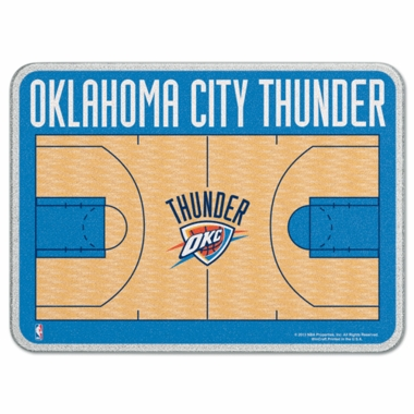 Oklahoma City Thunder 11 x 15 Glass Cutting Board