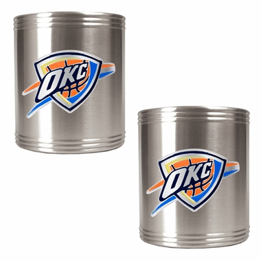 Oklahoma City Thunder 2 Can Holder Set