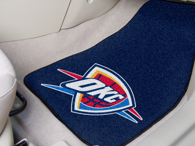 Oklahoma City Thunder 2 Piece Car Mats