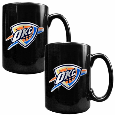 Oklahoma City Thunder 2 Piece Coffee Mug Set