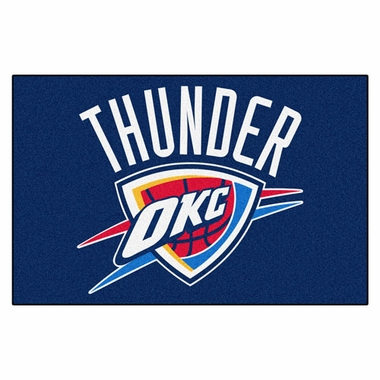 Oklahoma City Thunder 20 x 30 Rug