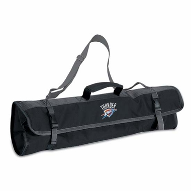 Oklahoma City Thunder 3pc BBQ Tote (Black)