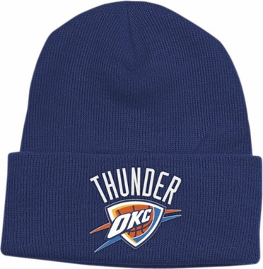 Oklahoma City Thunder Basic Logo Cuffed Knit Hat