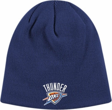 Oklahoma City Thunder Basic Logo Cuffless Knit Hat