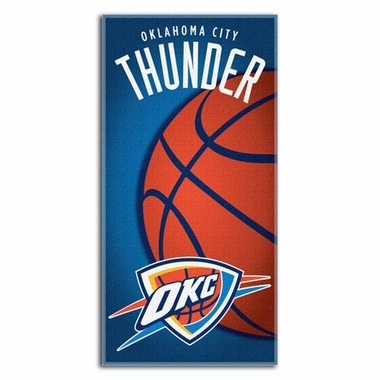 Oklahoma City Thunder Beach Towel