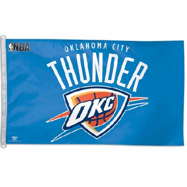 Oklahoma City Thunder Big 3x5 Flag