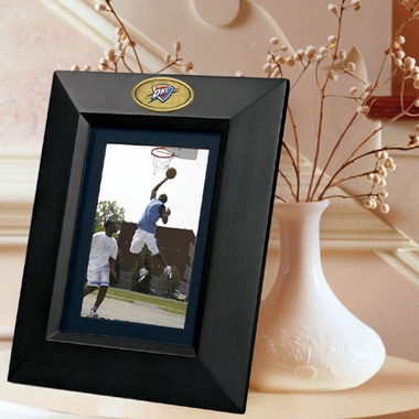 Oklahoma City Thunder BLACK Portrait Picture Frame