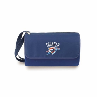 Oklahoma City Thunder Blanket Tote (Navy)