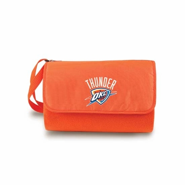 Oklahoma City Thunder Blanket Tote (Orange)