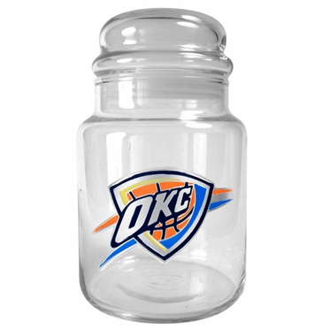Oklahoma City Thunder Candy Jar