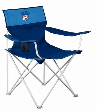 Oklahoma City Thunder Canvas Adult Folding Logo Chair