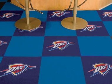 Oklahoma City Thunder Carpet Tiles