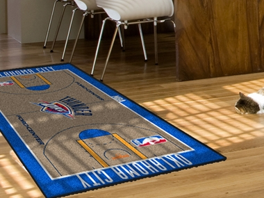 Oklahoma City Thunder Court Runner Rug