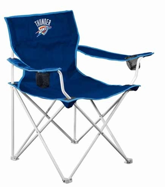 Oklahoma City Thunder Deluxe Adult Folding Logo Chair