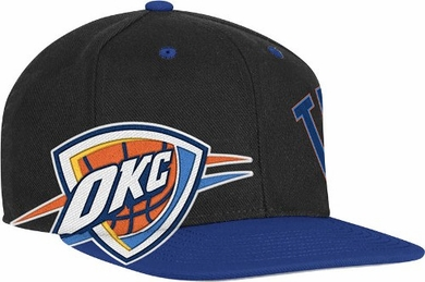 Oklahoma City Thunder Double Graphic Wool Blend Snap Back Hat