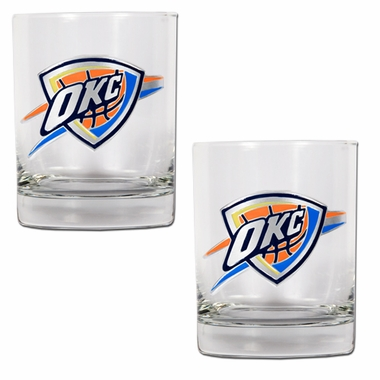 Oklahoma City Thunder Double Rocks Set