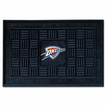 Oklahoma City Thunder Heavy Duty Vinyl Doormat