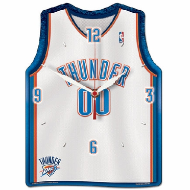 Oklahoma City Thunder High Definition Wall Clock