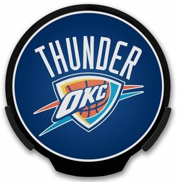 Oklahoma City Thunder Light Up Power Decal