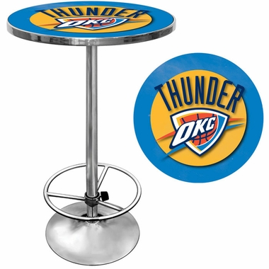 Oklahoma City Thunder Pub Table