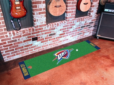 Oklahoma City Thunder Putting Green Mat