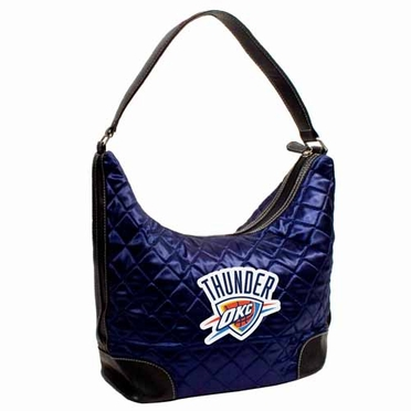 Oklahoma City Thunder Quilted Hobo Purse